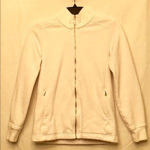 Polo Golf by Ralph Lauren White Zip-Up Sweatshirt